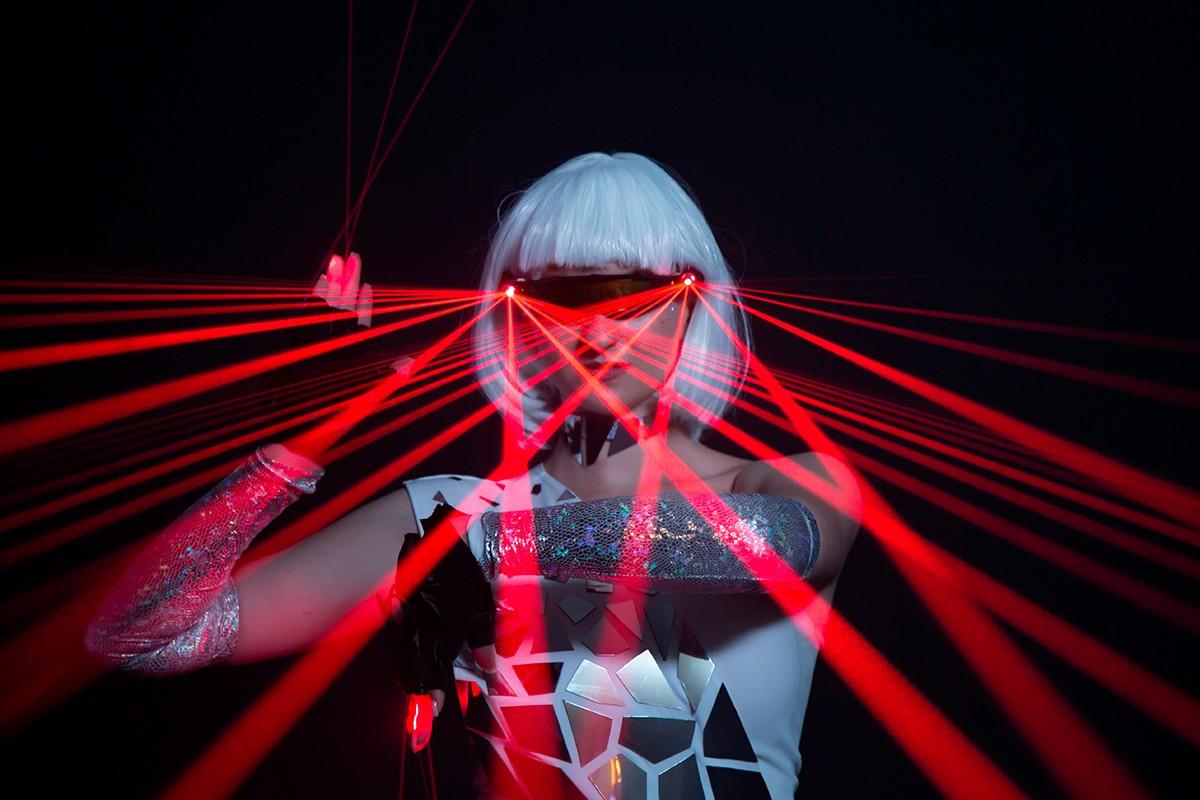 Лазерное шоу киев