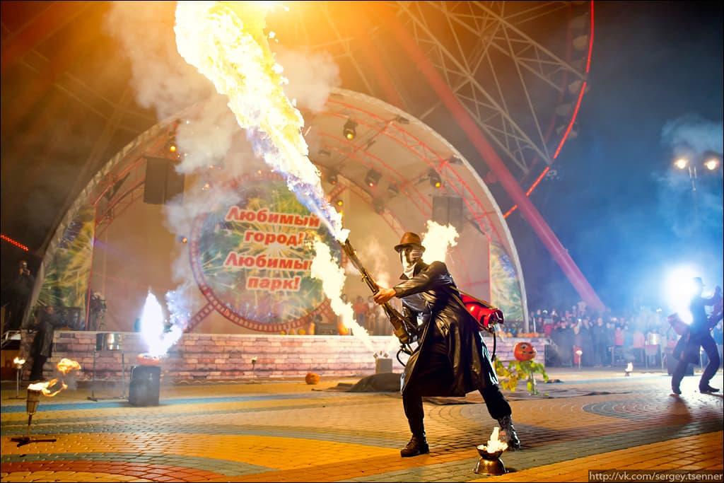 Огнемет фаер шоу