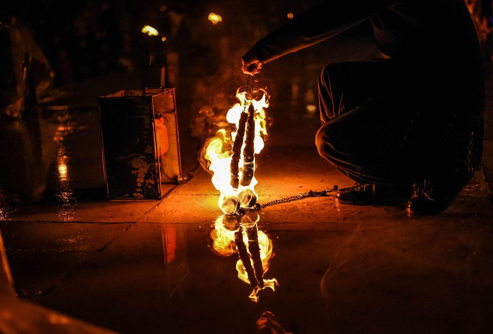 поджигаю огненные снейки