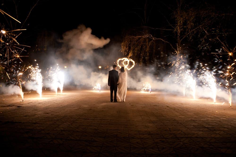 Фаер шоу на свадьбу в Киеве