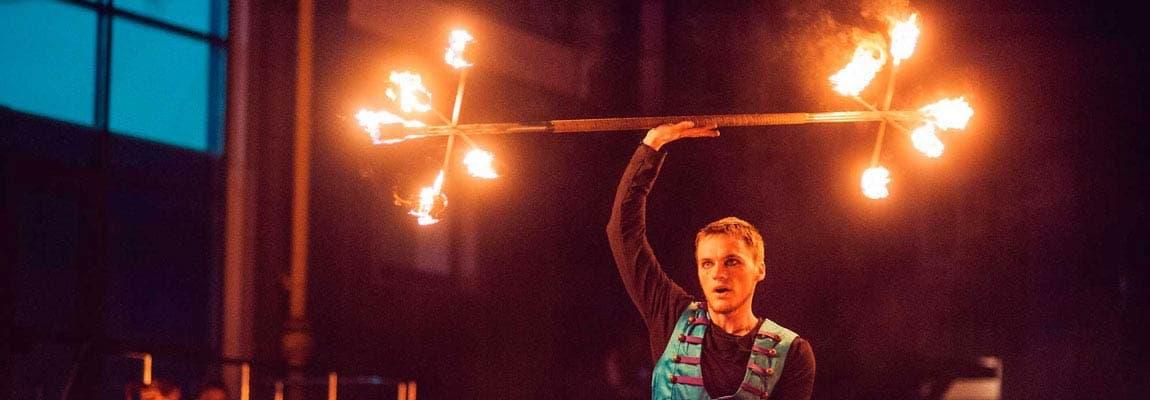Огненное шоу Киев